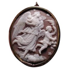 Cameo of Eos with her children
