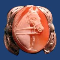 Lvely cameo of  a horse