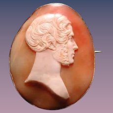 Large cameo of Prince Albert