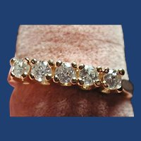 Diamond ring 1/2 ct approximately