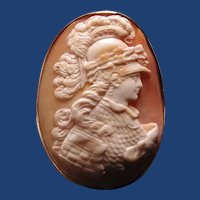 Fabulous cameo of Athena Parthenon