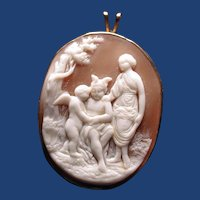 Education of Eros by Mercury and Venus