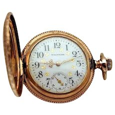 Hunting case pocket watch