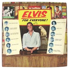 Elvis For Everyone Presley Record Album Rca 65 First Edition Us Mono LP LPM-3450