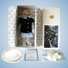 """Renoir's """"Monchie"""" Doll From  """"Les Parapluies"""" By Pierre Auguste Renoir LTD  #819 Of 1200"""