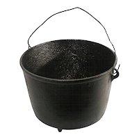 Antique 2 Gal #8 Cast Iron Cowboy Camp Fire Camping Kettle Cauldron Gypsy Pot