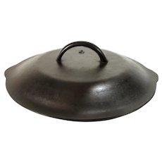 Vintage #8 Lodge Cast Iron Frying Pan Skillet Chicken Fryer Dutch Oven Basting Lid