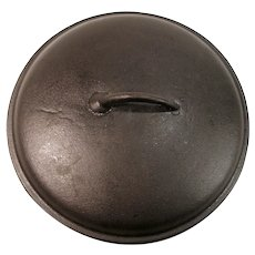 Birmingham Stove & Range Collectible  Cast Iron Frying Pan Skillet / Chicken Fryer Dutch Oven Basting Lid