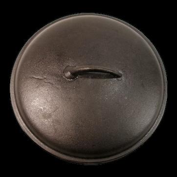 Birmingham Stove & Range Collectible  Cast Iron Frying Pan Skillet / Chicken Fryer Dutch Oven Basting Lid