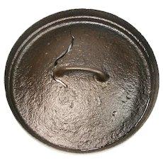 Antique Cast Iron Fryer Skillet Dutch Oven Warming Warmer Baltimore Lid