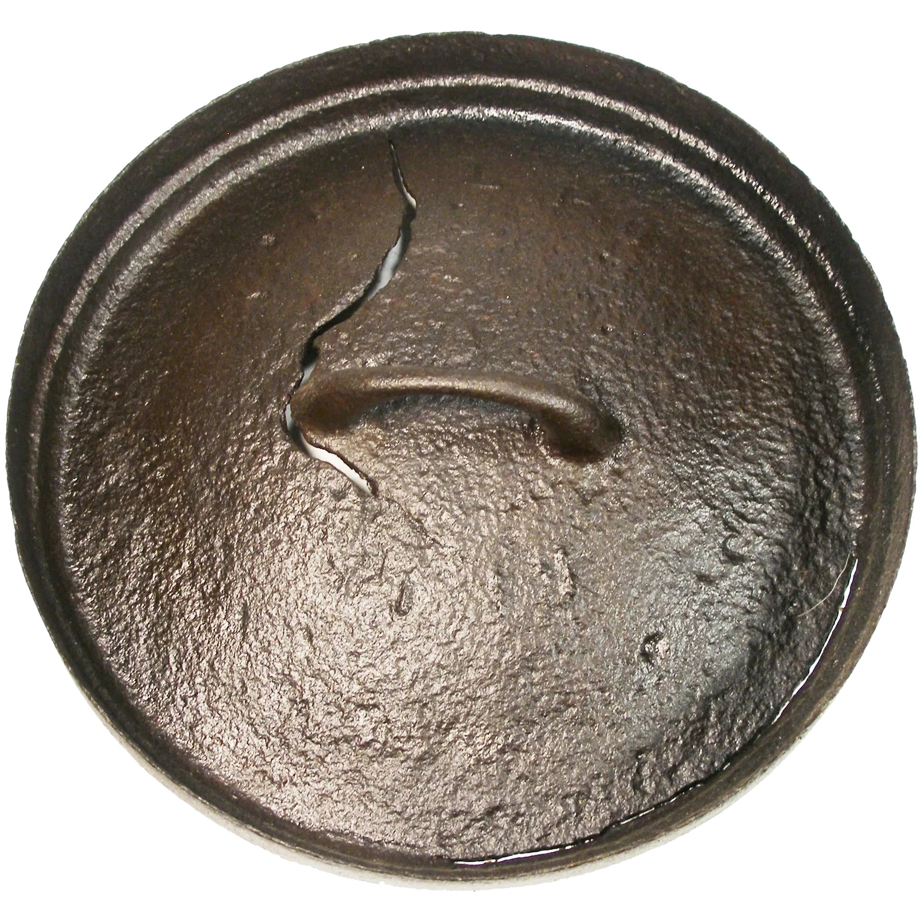 Antique Cast Iron Fryer Skillet Dutch