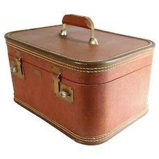 J C Higgins Travel Vanity Make Up Case Train Airplane Suitcase Luggage Theatre Movie Prop