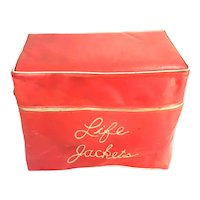 Vintage Atlantic Pacific / Life Preservers U.S. Coast Guard Approved  with Case