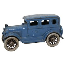 "Rare 1927-1932 A.C. Williams 6"" Sedan with Nickel Plated Wheels"