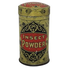 Circa 1905-1915 Taite & Sisler 'Insect Powder' Litho Advertising Tin
