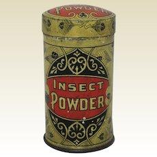 Circa 1905-1915 Taite & Sisler 'Insect Powder' Litho Advertising Tin