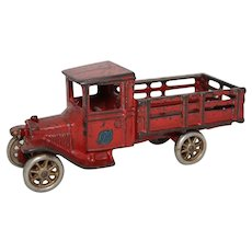 "1920's Arcade 6 3/4"" Ford Stake Truck"