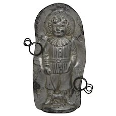 1905-1928  'Anton Reiche' Victorian Boy with Toy Horse Chocolate Mold