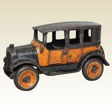 """Rare 1926-1930 Small 5 1/4"""" Arcade Cast Iron Toy Cab"""