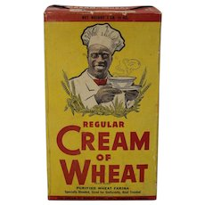 1946-1958 Unopened 'Cream of Wheat' Cereal Box