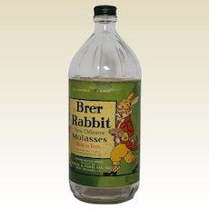 1940's 'Brer Rabbit New Orleans Molasses' 1 Quart Bottle