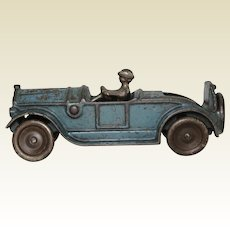 """1920's 'Kilgore' 6"""" Cast Iron Sport Roadster with Rumble Seat"""