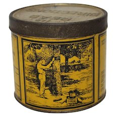 1920'S, 30'S 'Tree Tanglefoot' 1 lb Litho Tin