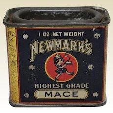 1926-1927 'Newmark's' Litho Spice Tin