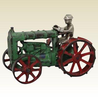 Circa: 1929-1934 Arcade Fordson Tractor with Original Driver