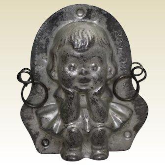 Circa 1924, Anton Reiche Little Girl Chocolate Mold