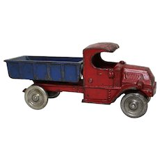 "Early 1930'S Champion Mack C-Cab Large 8"" Long Dump Truck"