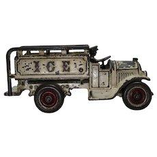 Circa: 1927-1931 Rare Kenton (Open Cab) Ice Truck