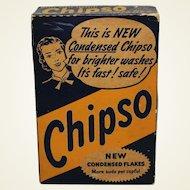 "Circa 1930-1948 ""Chipso"" Unopened Laundry Detergent Box."
