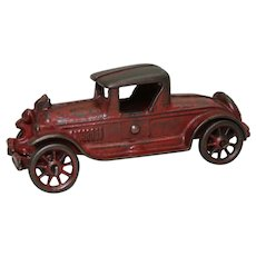 "1930's Cast Iron A.C. Williams 6"" Toy Roadster"