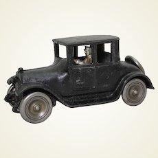 """Rare Circa 1925-1927 Large Arcade  9"""" Cast Iron Toy Coup"""