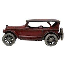 "Circa: 1920's Cast Iron 7 1/2""  A.C. Williams Lincoln ""Touring Car"""