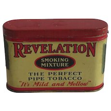 Trial Size Revelation Pipe Tobacco Tin