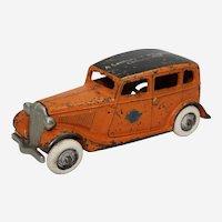 "Rare, 1933-1934 Arcade Car ""Century of Progress"" Larger  6 1/2"" Ford Taxi"