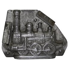 Circa: 1907-1928  'Anton Reiche' Steam Locomotive (Train) Chocolate Mold
