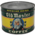 1930's, Early 40's Key Wind 1 lb. Old Master Coffee Litho Can