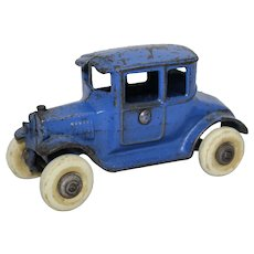 "Circa: Mid 1920's Kilgore Cast Iron 5"" Model-T Ford Coup"