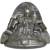 Circa 1930-1950 German 'Heris' Easter Bunny with Two Small Children Chocolate Mold