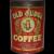 Rare, Circa: 1918-1929 1 lb. Old Judge Litho Coffee Tin