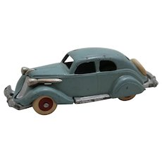 "Circa: 1934-1936 Cast Iron Hubley 5"" Studebaker Sedan Toy"