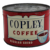 Circa: 1950's Unopened 1 lb. 'Copley Coffee' Litho Advertising Coffee Can