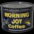 Circa: 1940's Morning Joy Coffee 1 lb. Litho Key-Wind Coffee Can