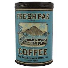 Vintage Freshpak Coffee Tin