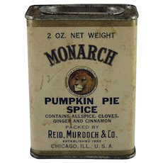 Monarch Pumpkin Pie Spice Container