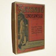 "Vintage ""Setsnug"" Underwear, Ladies Garment Box"