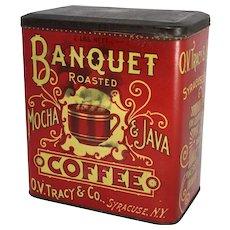 Banquet Roasted Mocha & Java Coffee Tin